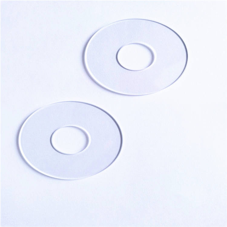 Manufacture clearly optical BK7 K9 glass ring