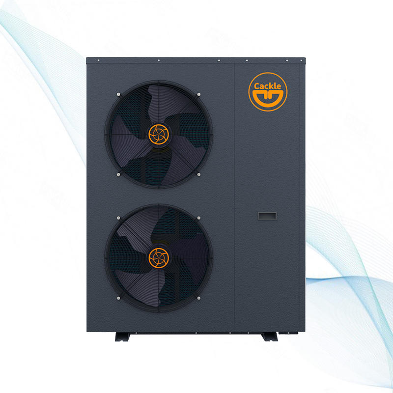 House heating with radiator floor pipe high temperature air source heat pump pompe a chaleur inverter heat pump monoblock