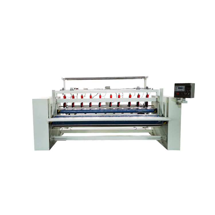 Non woven fabric terry cloth meltblown fabric slitting cutting machine factory good price