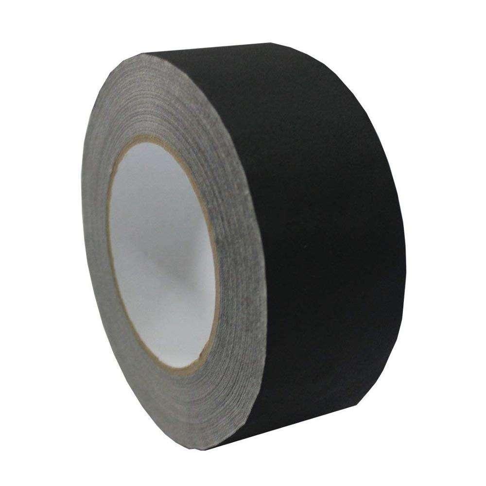 Cloth Black High Duty Quality Professional Gaffa Gaffer Tape 48MMX50M Duct