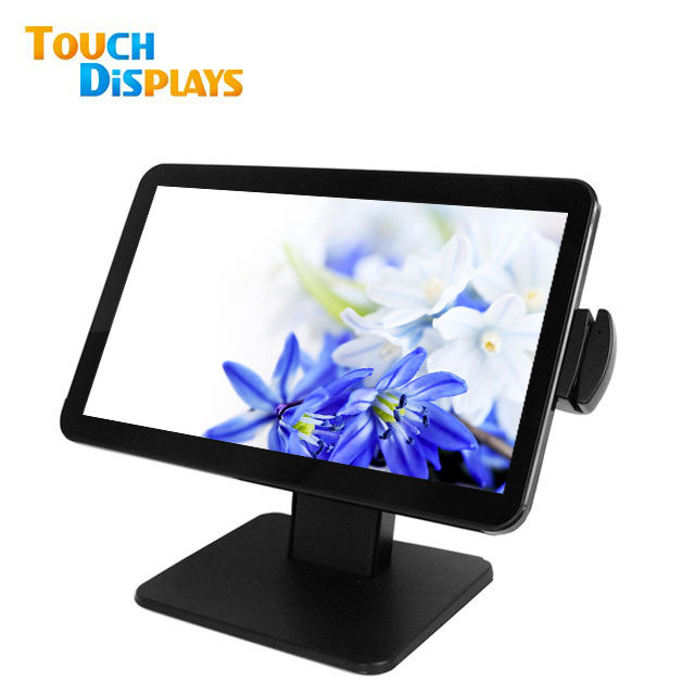 Pos with printer windows payment cashier register 15.6 inch pos system