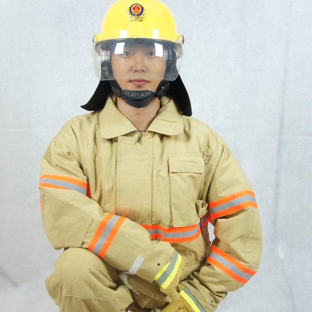 EN469 firefighting DRD aramid fireman suit cloth