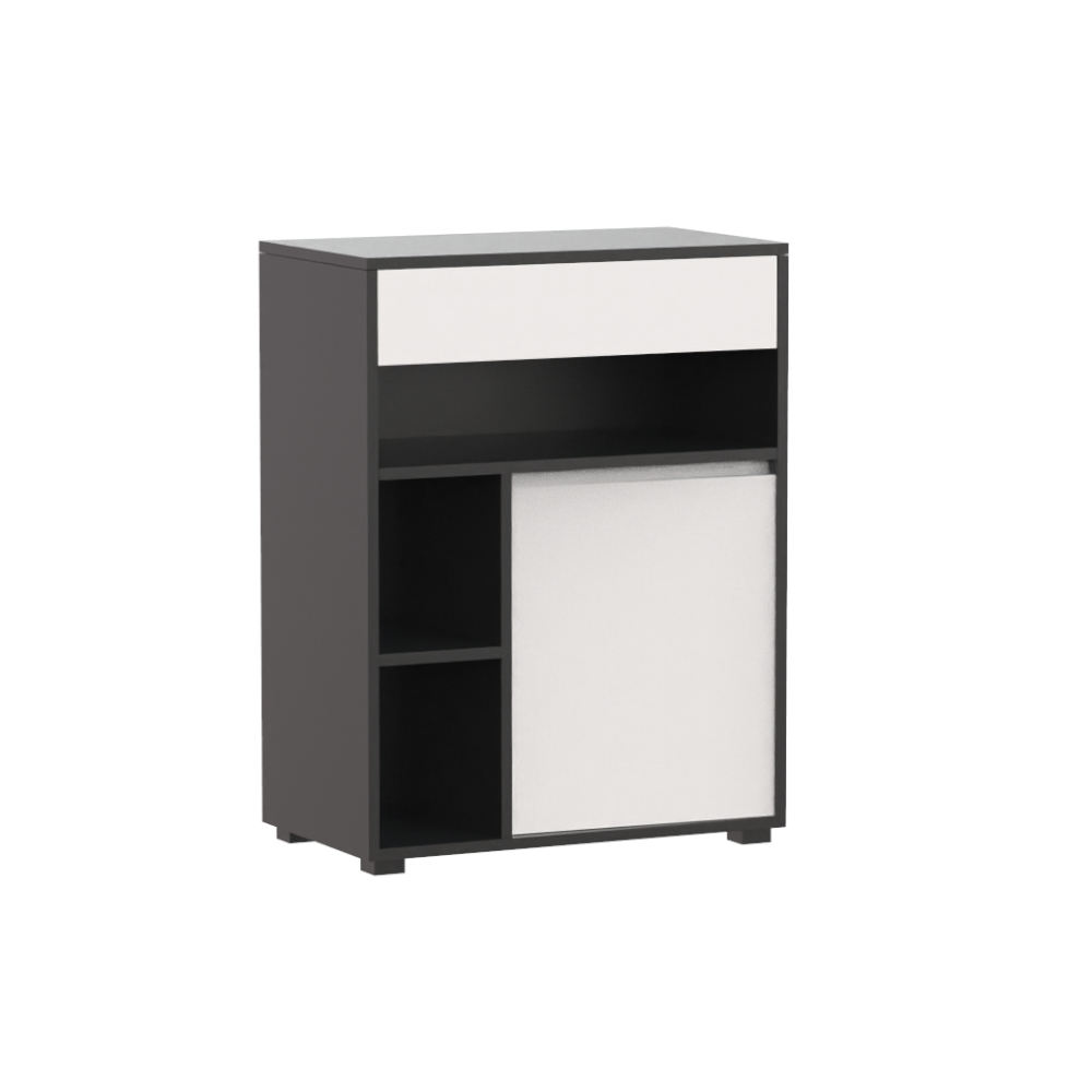 New Modern Design MDF White Black Combination Dinning Living Room Set Two 180 cm Buffet Cabinet Sideboard