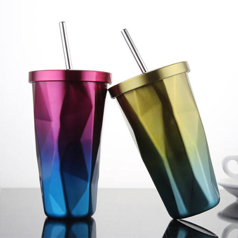 Bar accessories reusable stainless steel straw