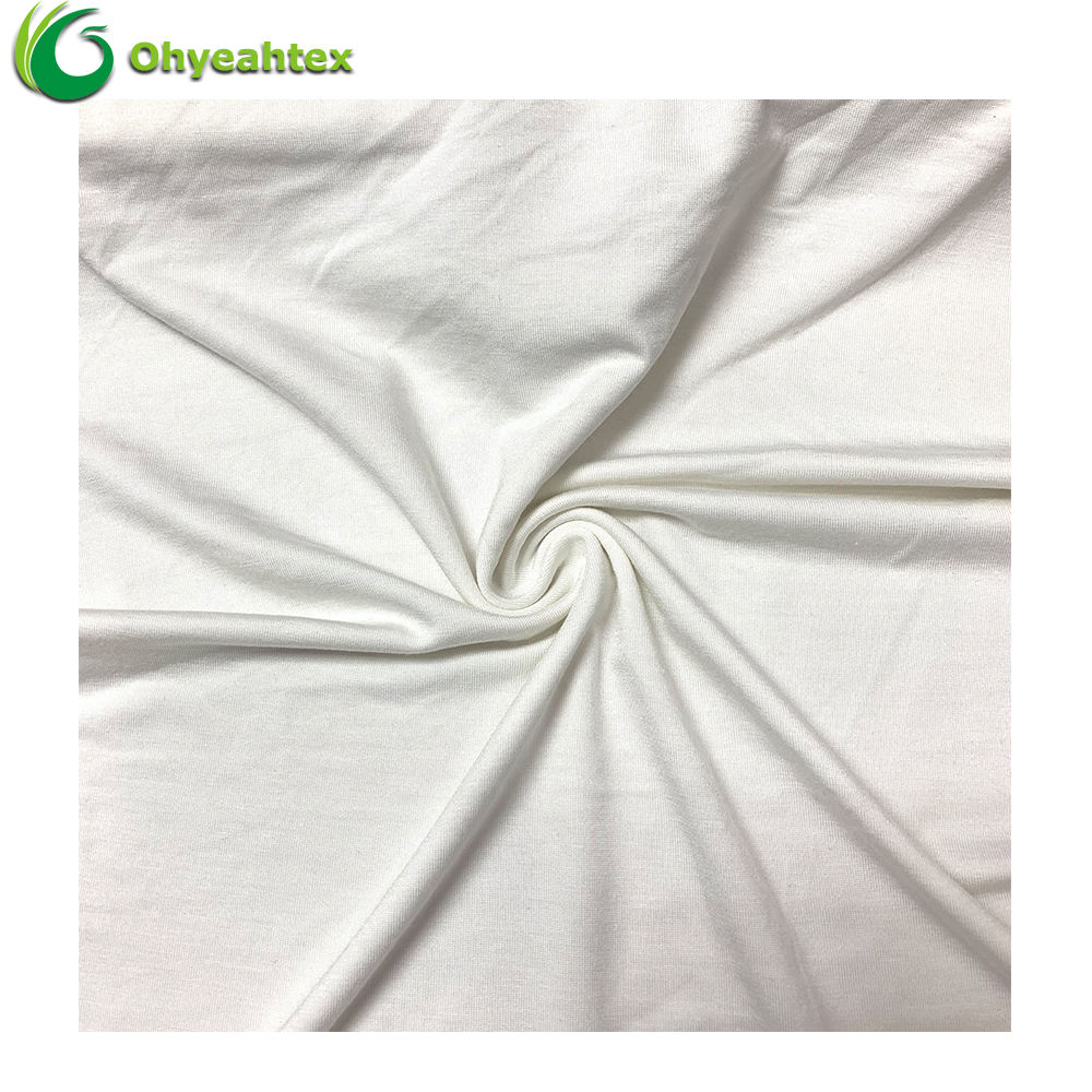 UPF 50 Anti-UV Organic Knitting 95% Bamboo 5% Spandex Fabric for Underwear