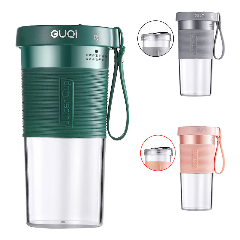Chufeng 320 Ml Usb Oplaadbare Travelling Fruit Mixer Fles Juicer Cup Draagbare Blender