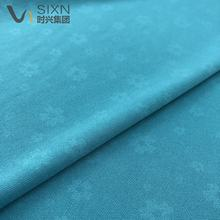 water bloom effect color changing design show 50D polyester interlock knitting soft garment fabric