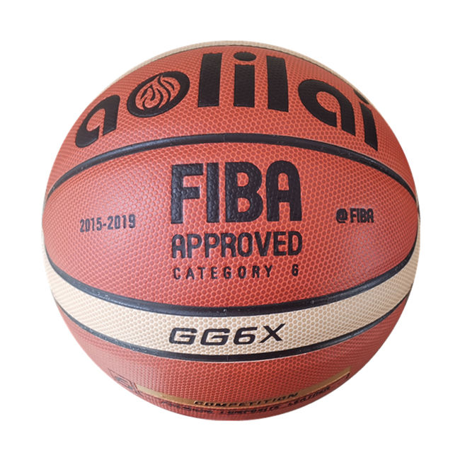 Hot selling Aolilai GG6X indoor/outdoor official Approved match basketball size 6 women use Basketball