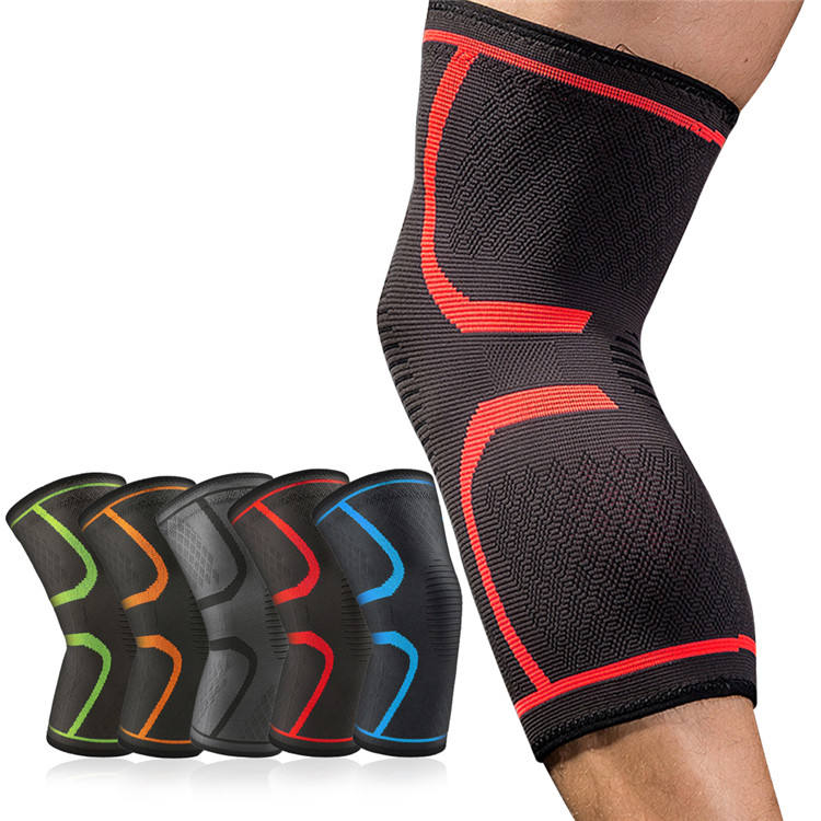 Compression Elastic Brace Support Making Machine Squat Knee Padded