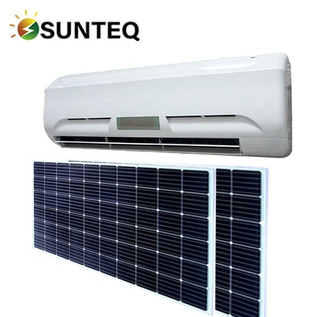 9000btu green energy on grid 9000btu 1HP 0.75 ton cooling only solar power air conditioner