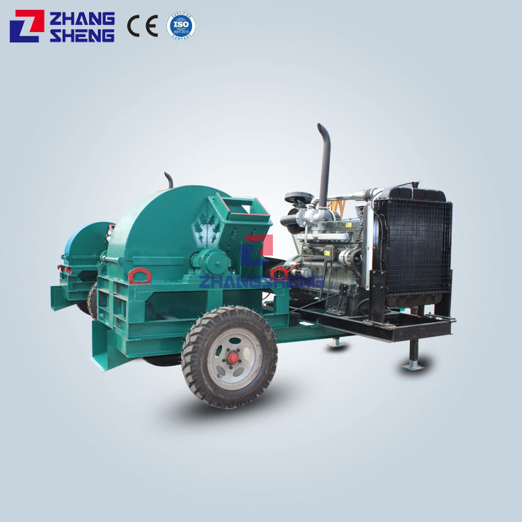 charcoal crusher machine with cyclone wood sawdust log making machine wood crusher