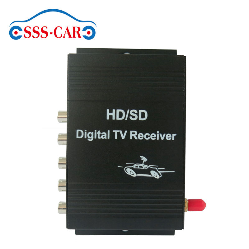 Car set top box isdb-t receiver moving at high speed isdb-t digital tv reception box for Brazil