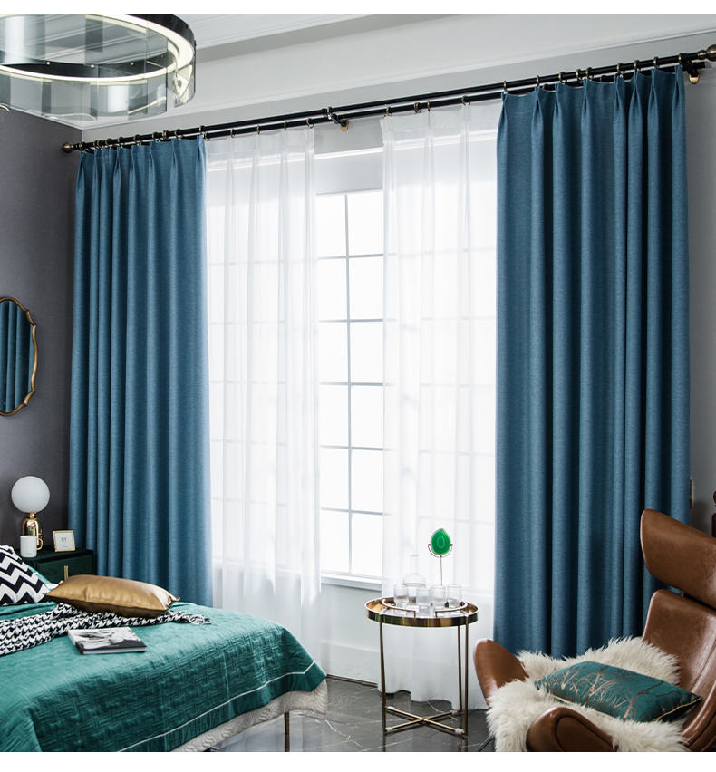 Curtains Blackout Black Out For Luxury Material Style Used Room Manufacturer Hotel Lobby Curtain