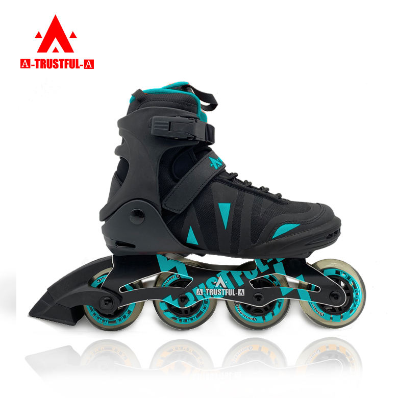 Four Wheel Professional Adjustable Inline Roller Skates For Adult Skate Shoes
