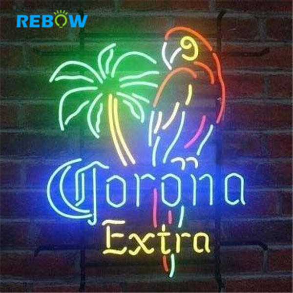 Corona Guitar Neon Sign Logo Custom Acrylic Neon Signs Led Signature Small Neon Light Sign for Store Decoration