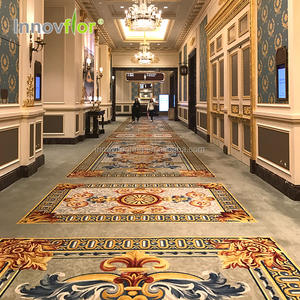 New Design Luxury 5 Star Hotel Room Lobby Hallway Corridor Alfombra Rollo Axminster Australian Area Runner Rugs Carpet For Sale
