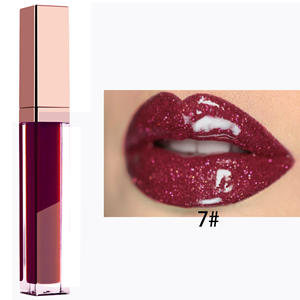 Private Label Lip Makeup Vegan Waterproof 40 Color Organic Lip Gloss With Free Sample