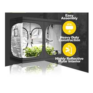 Tent Complete Kit Indoor Large And Lights Hydroponic Box Led Complet System Fabric Cheapest Grow Tents