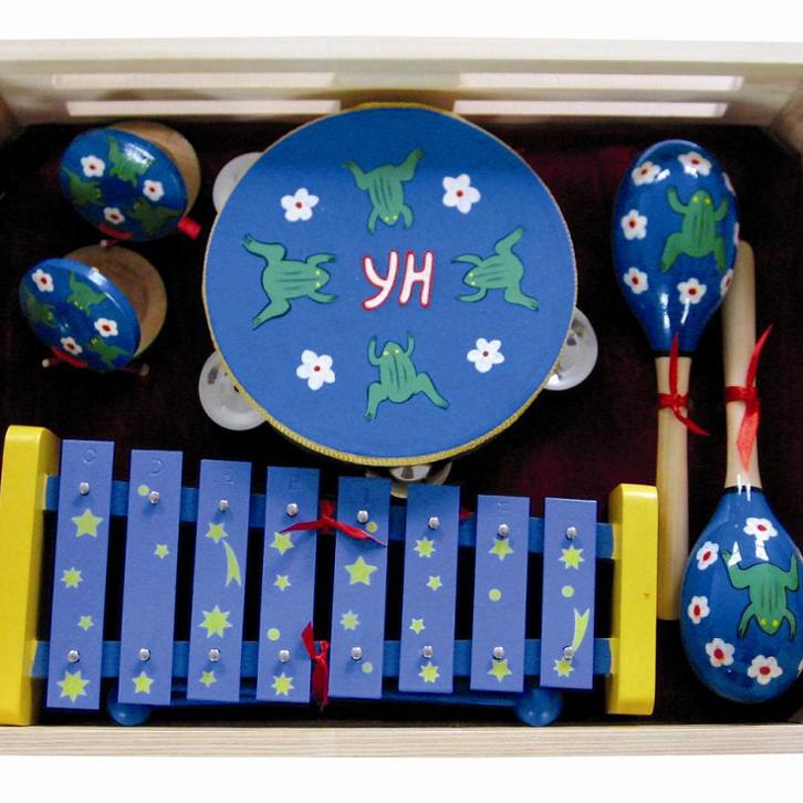 Regalo de moda para bebé/los niños mejor musical regalo niños instrumento musical de percusión conjunto
