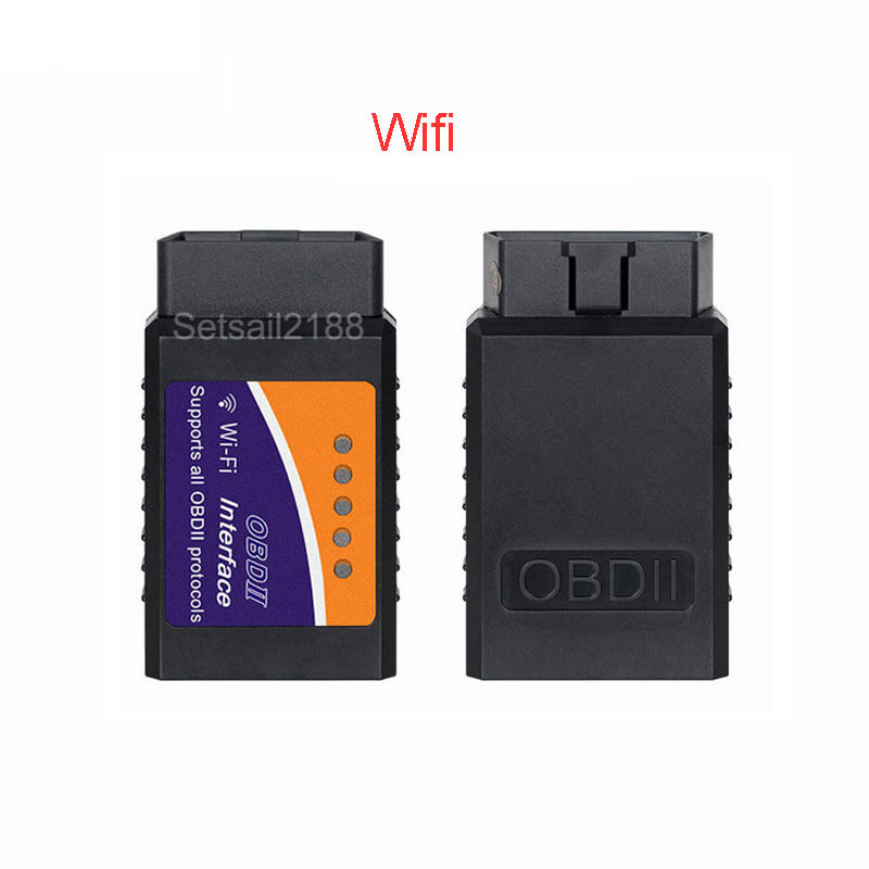 Wifi Obd OBD2 Elm327 Elm 327 V1.5 Wifi Scanner Obdii Scanner Auto Diagnostic Tool Voor Iphone Android Met Ce
