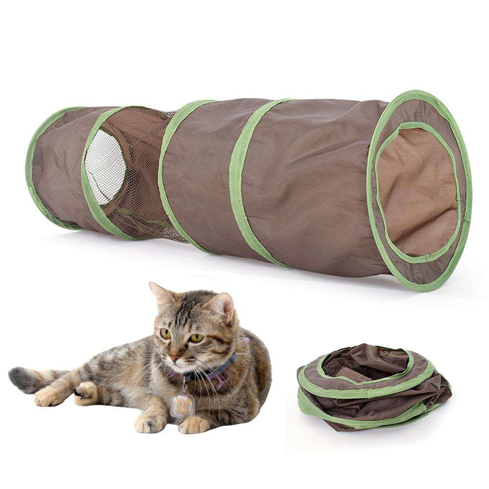 Cat Play Tunnel Pet Bed Cat Channel Four Seasons Universal Funny Folding Tent For Rabbits, Kittens, Ferrets And Dogs