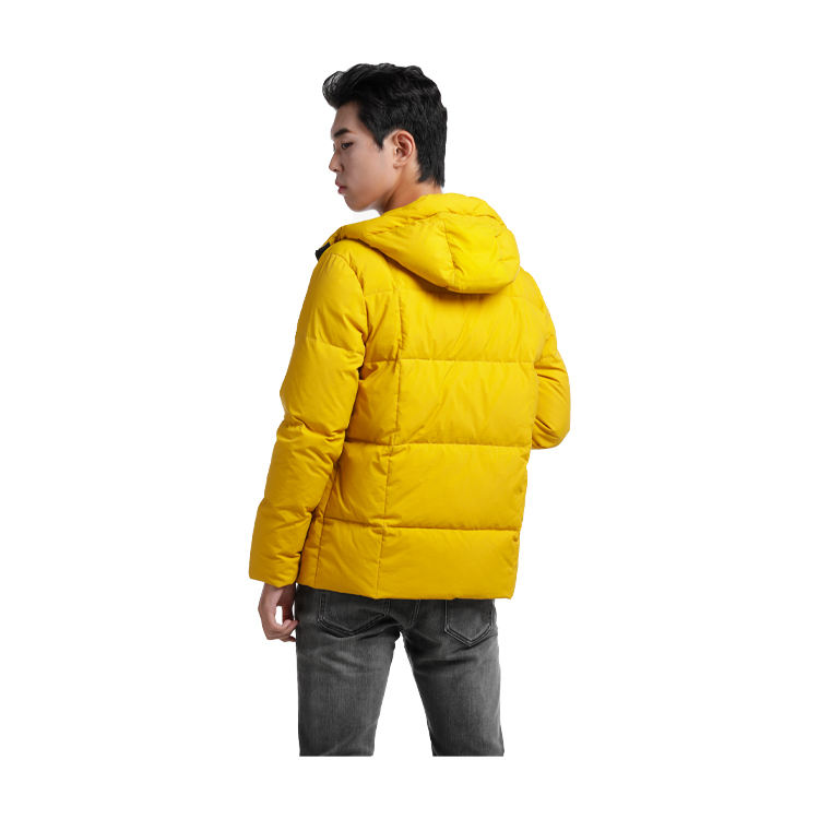 Wholesale winter thin puffer coat for men windbreak with fast shipping