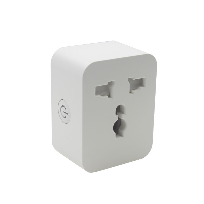 TUYA Smart Wifi Universal Plug 15a 3pin 2 pin Socket App Remore Control WIFI Universal Power Socket