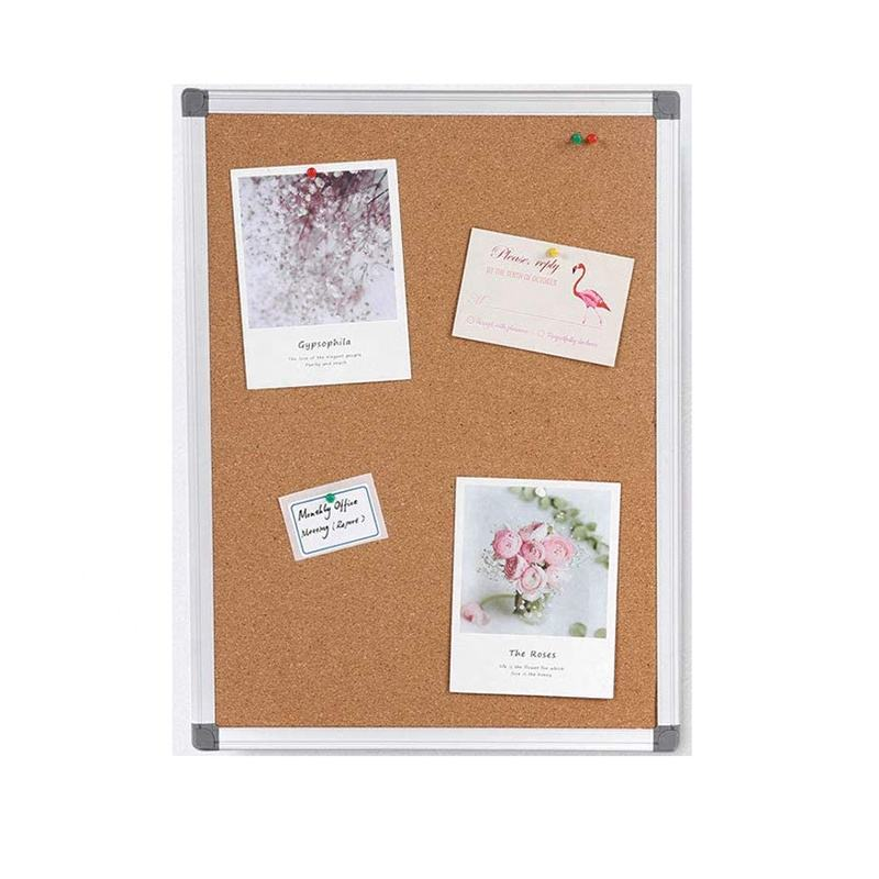 Aluminum Frame magnetic whiteboard cork pin board home Combo Board
