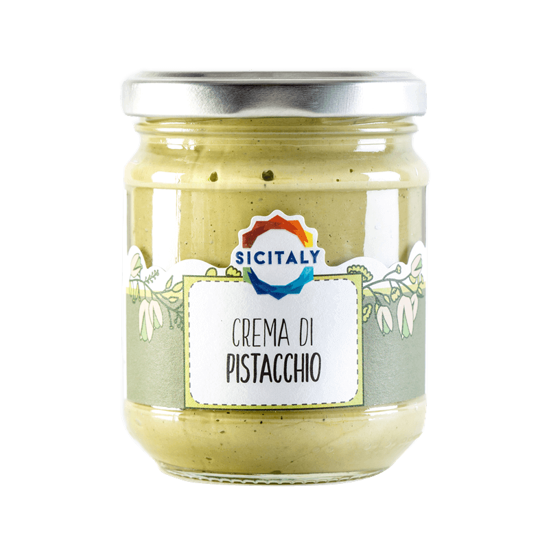 Pistachio Butter Cream in glass jar 190gr (Sicily - Italy)