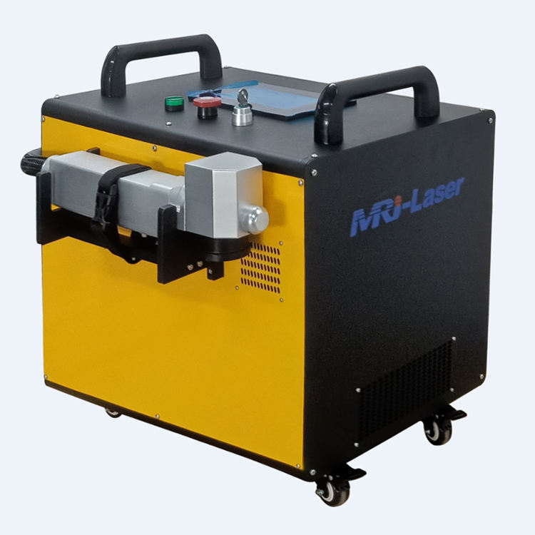 Overseas service provided laser cleaning machine for rust removal