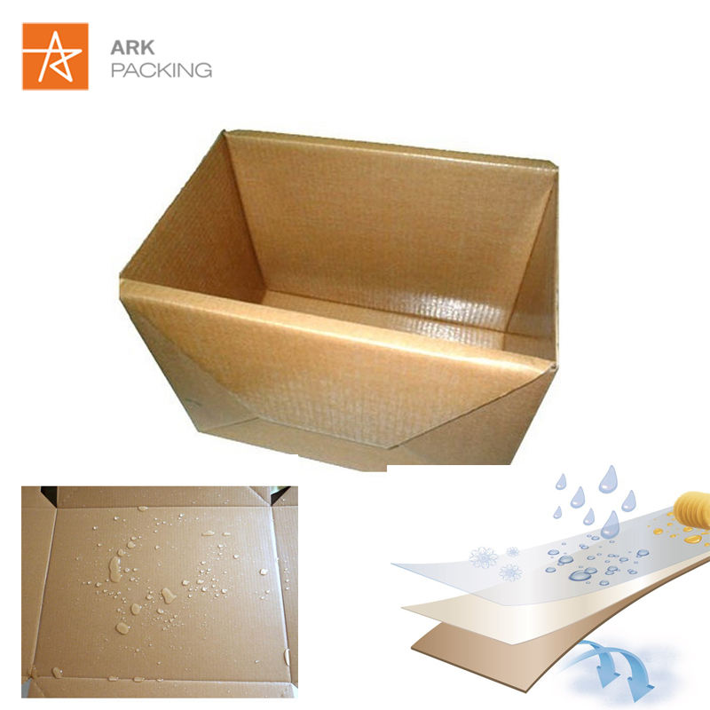 Recycled biodegradable Paper Corrugated Shipping Box Paper Carton For Fresh Fruit Vegetable Food Frozen shipping