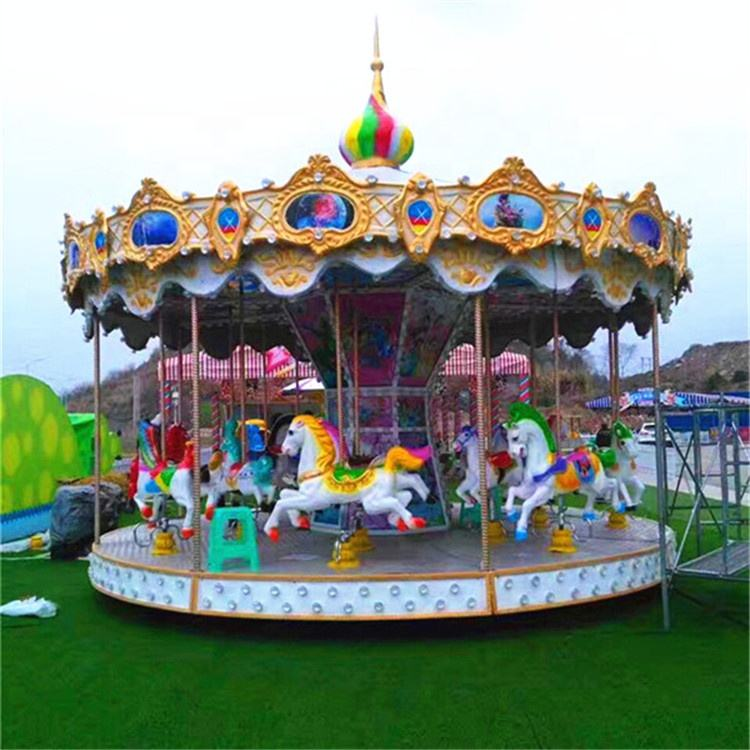 China suppliers amusement rides carousel merry go abound amusement park carousel rides for children