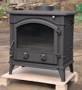 best sell wood burning cast iron stove indoor