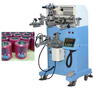 Global Hot-selling Products Flat Round Screen Printing Machine de Serigraphie Can Printing Machine