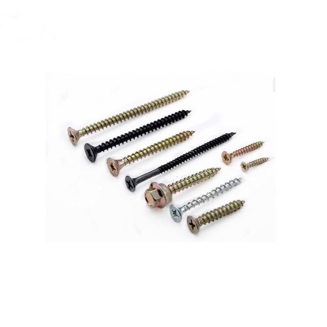 Inch [ Wood ] Chipboard High Precision Wholesale Iron Stainless Steel Long Screws Wood For Mechanical
