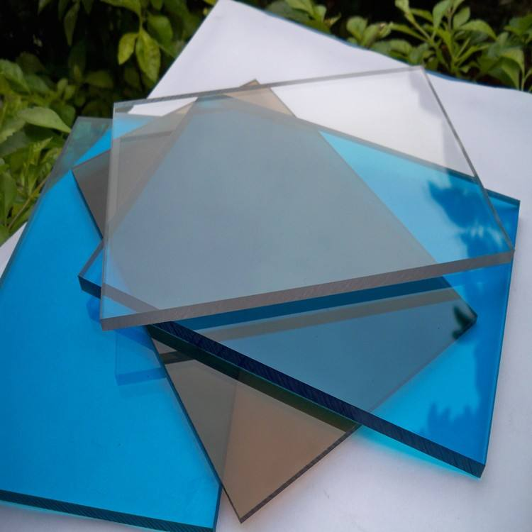Berwarna Polycarbonate Sheet 2 Mm Plastik PC Board/Lexan/Sabic/Teijin Bahan