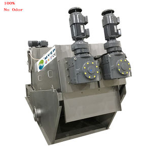 auto clean centrifuge equipment water treatment machinescrew for fish pond was sludge dewatering filter press
