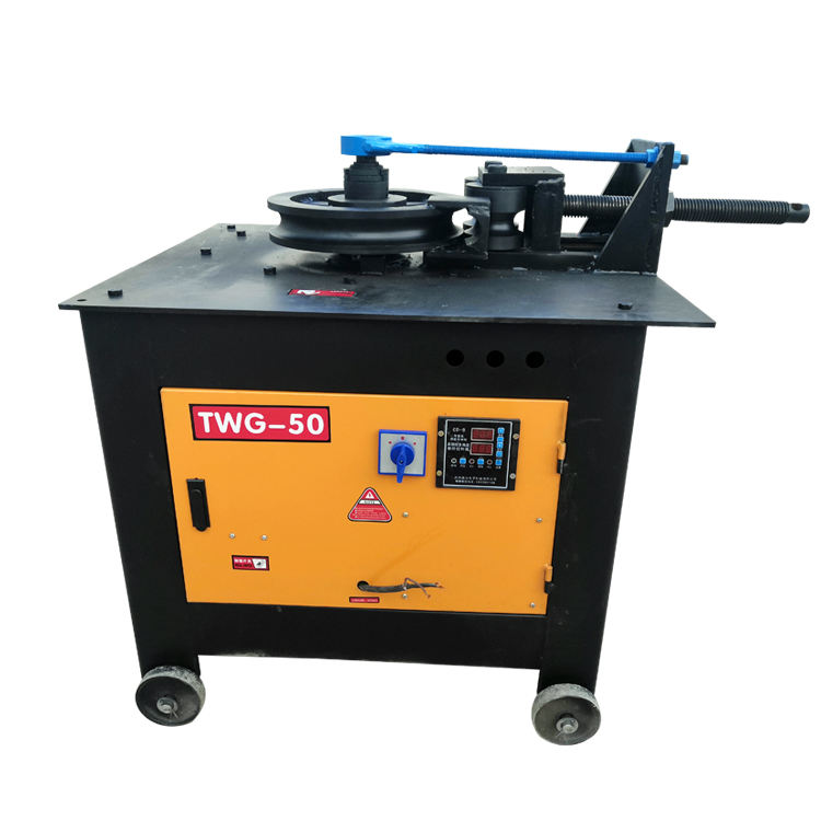 CNC Automatic Tube Bender Iron Aluminium Round / Square Pipe Bending Machine digital Steel Bending Machine for pipe and tube