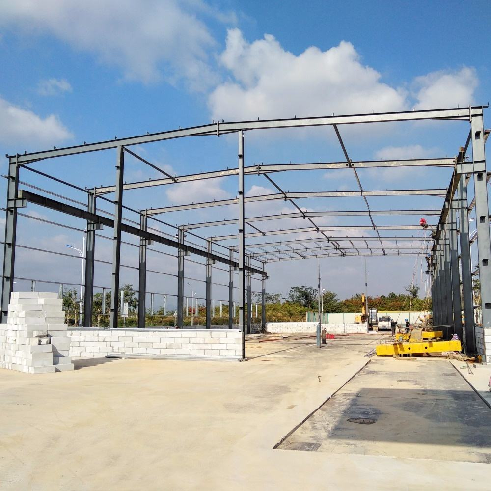 Prefab / Prefabricated Heavy Steel Structure Building Warehouse