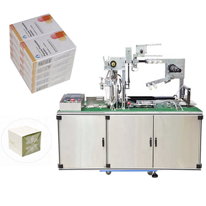 Factory supply automatic cellophane packing machine for box products