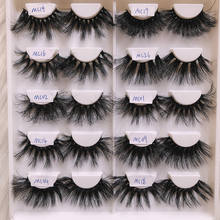 100% Mink Fur False Eyelashes Wholesale Private Label Customize Packaging Real 5D Mink lashes
