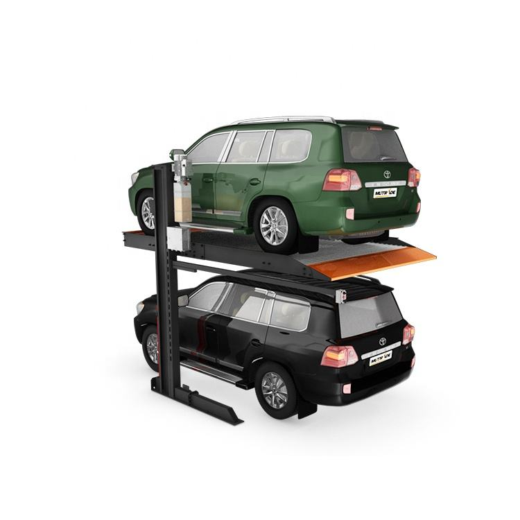 Hydro-park 1123 Two Cars 2 Post Hydraulic Lift Vertical Car Parking System for Two Cars