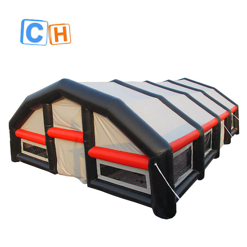 HOT selling inflatable party tent Outdoor steel frame dome yurt tent with glass door and floor