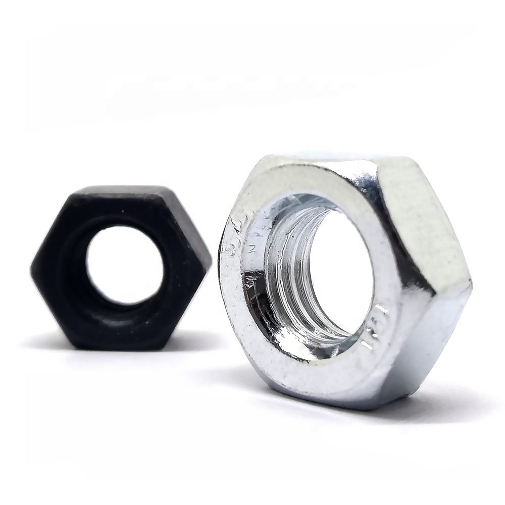 DIN934 Hexagon Bolt Carbon steel Stainless Steel SS304 316 Hex Nuts