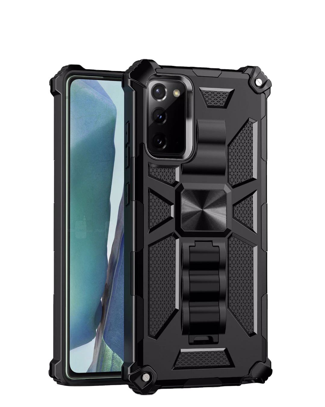 2020 Ultra Shockproof Armor Car Magnetic Stand Phone Case for Samsung Galaxy S10 20 plus ultra Note 10 A10 20 30 40 50 51 60 70