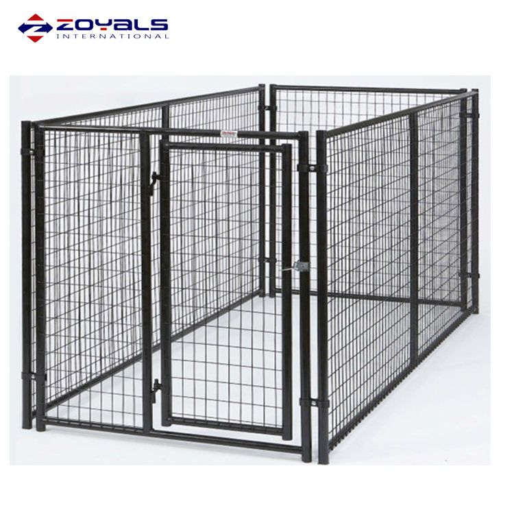 Fabricación profesional vender directamente barrera corralito Kennel pesado plegable de Metal jaulas de perro mascota ejercicio cerca