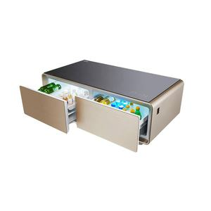 Small intelligent modern tea table with refrigerator