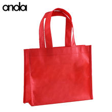 Custom printable non woven bag tote reusable shopping bag wholesale /eco promotional nonwoven shopping grocery bag with logo