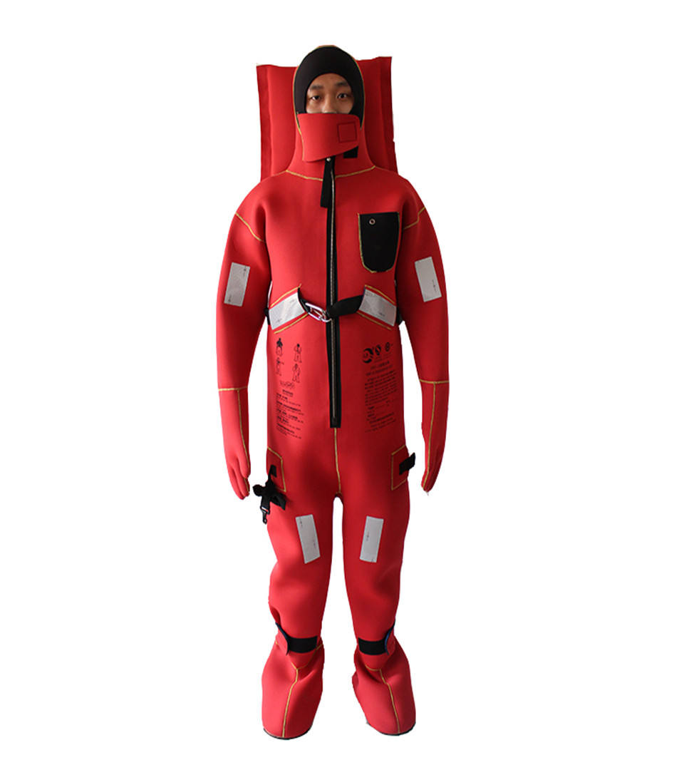 SOLAS approved marine survival suit/ immersion suit with EC certificate