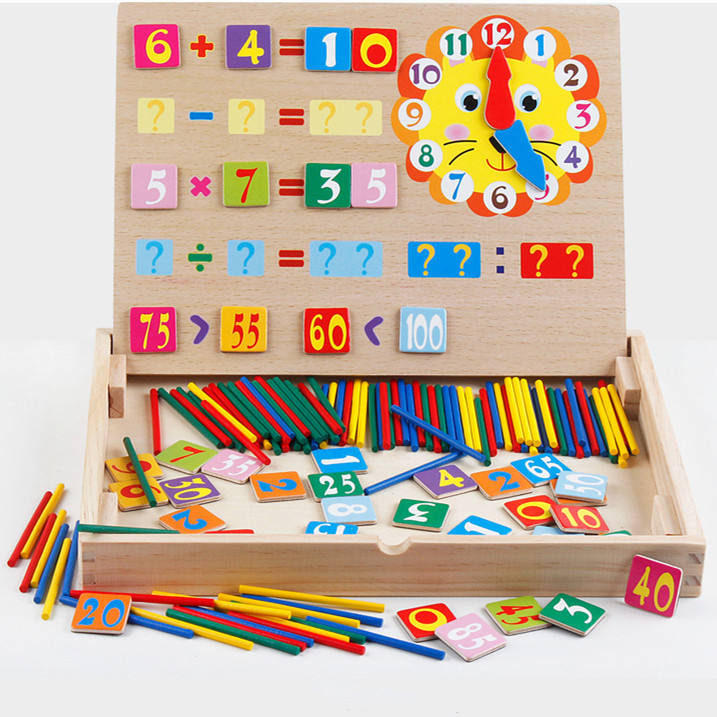 2019 High quality wooden preschool math educational toys for kids early education
